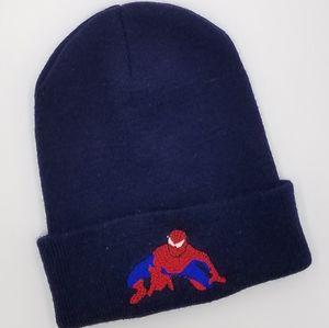 Spider Man Spiderman Knit Winter Hat